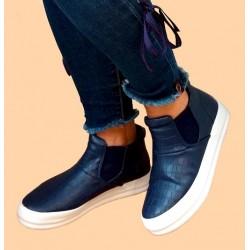 Granatowe sneakersy r. 38