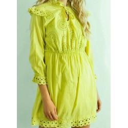 Sukienka boho limonka rozm. S/M/L