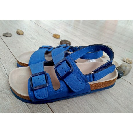 Sandałki niebieskie r. 31,34