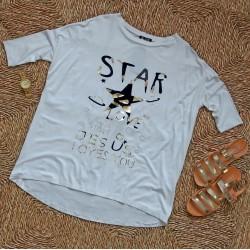 Biała bluzka/tunika Star rozm. XL/XXL/XXL