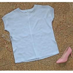 Elegancka biała bluzeczka M/L