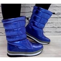 Niebieskie śniegowce r. 37