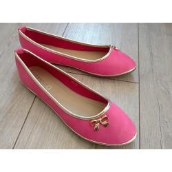 Leciutkie różowe balerinki