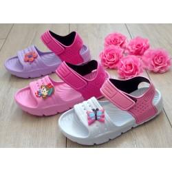 Plażowe sandałki dla dziewczynek